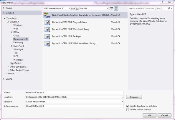 setup CRM dev toolkit 1