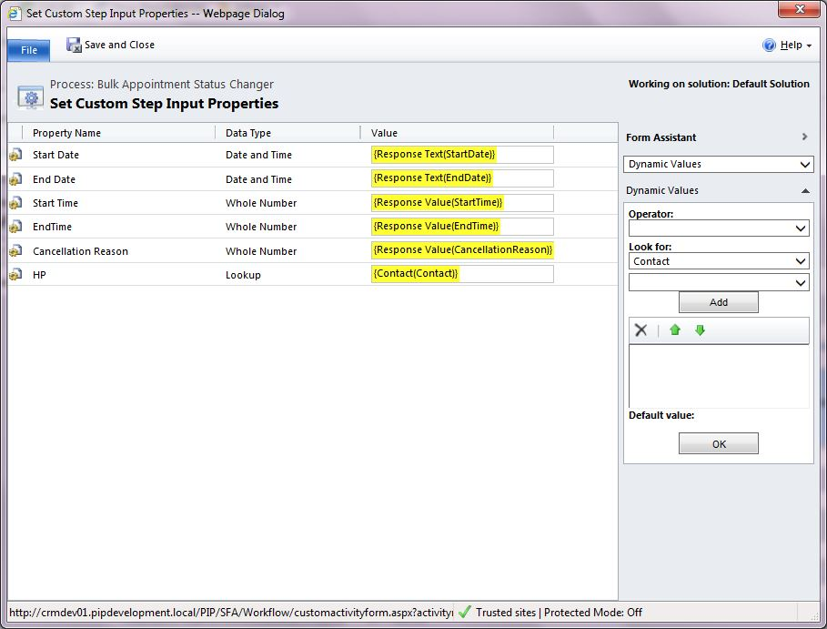 Crm 2011/2013 dialog's and custom workflow example youtube.