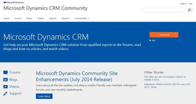 CRM Homepage