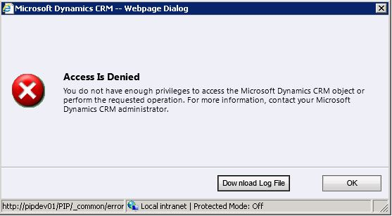 dialogs security needed 1
