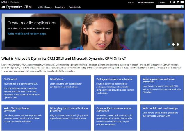 how to become a dynamics crm developer