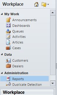 crm 2013 how to add reports to the sitemap microsoft dynamics