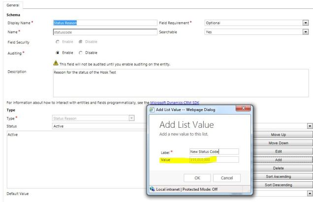 OptionSet default value 2