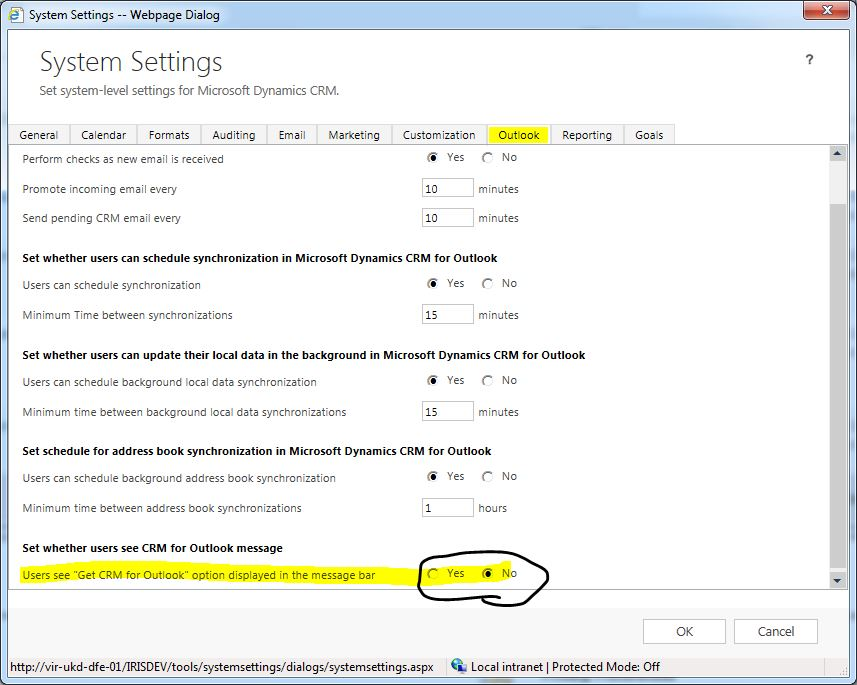 CRM 2013 – How to stop these annoying things in Microsoft Dynamics CRM