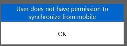 no permissions