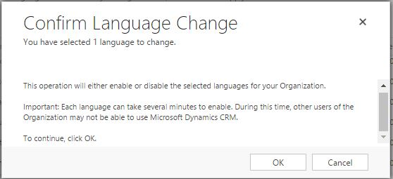 Install Language pack 2